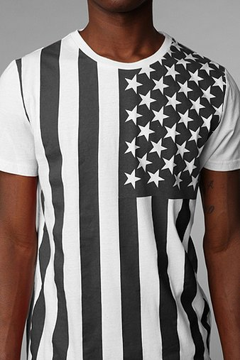 The Outcast Americana Tee - Urban Outfitters