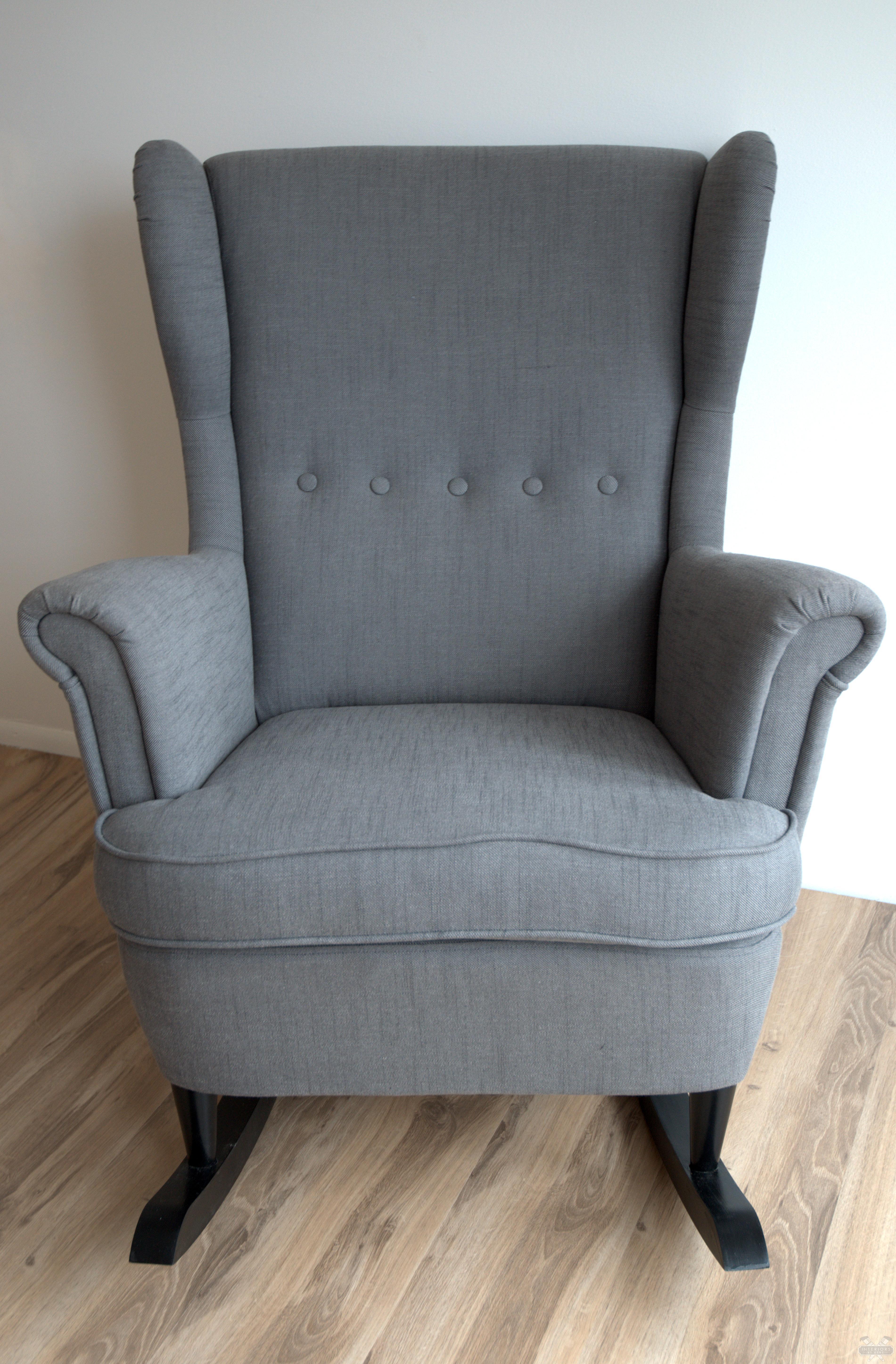 Ikea Hack Strandmon Rocker Diy Wingback Rocking Chair Interiors By Kenz On Listly