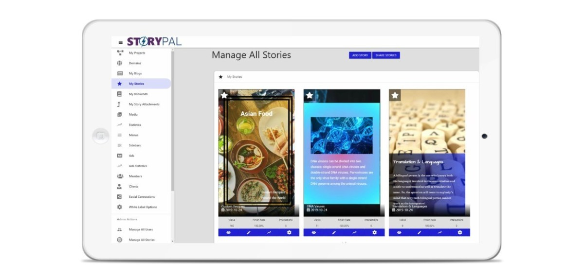 StoryPal Review - Interactive Stories That Are Searchable