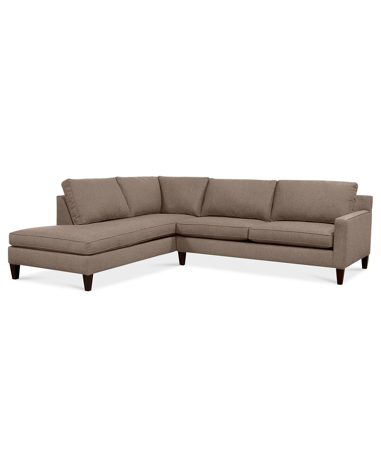 alanis fabric sectional sofa 2 piece 105quotw x 90quotd x 34quoth With sectional sofa 105