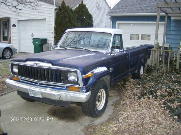 Jeep J10 Truck Craigslist – Trucks Finder